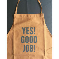 "⭕️限定販売 DRESSSEN DR(BRN) 2  ADULT APRON  "" YES! GOOD JOB!⭐️再入荷しました。"