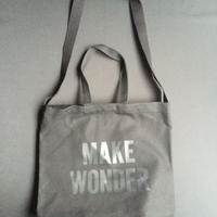 "DRESSSEN  TWO WAY BAG DBSHC8 ""MAKE WONDER"" ""BLACK COLOR  ※公式オンラインストア限定販売です。"