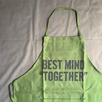 "⭕️オンラインストア限定発売 DRESSSEN  DR(GRN)10 ""BEST MIND TOGETHER "" APRON"