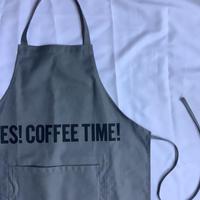 """🔴新型エプロンDRESSSEN  DRVGRY4 REVERSIBLE  APRON""""YES!COFFEE TIME!/YES!BEER TIME! """"(リバーシブル)"""