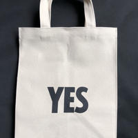 "MARKET BAG MBAS6   (SMALL)   ""YES/NO THANK YOU※片面YESのプリント、片面NO THANK YOUのプリントです。"