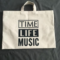 DRESSSEN DTB12  TOTE BAG DRESSSEN   TIME LIFE MUSIC