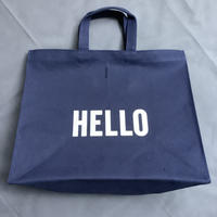 DRESSSEN  MARKET BAG (LARGE)  MBALNY2  HELLO/GOODBYE※DARK NAVY COLOR