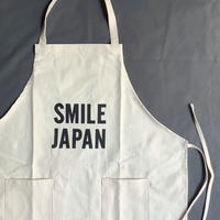 "⭕️オンラインストア限定発売 DRESSSEN  WPA15 DAY USE W POCKET APRON   ""SMILE  JAPAN""(natural color)⭐️再入荷しました。"