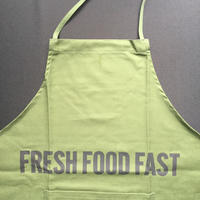 "DRESSSEN DR(GRN)9 ""FRESH FOOD FAST""APRON  GREEN COLOR"
