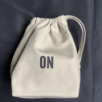 "🔴新発売 SMDSB2 DRESSSEN SMALL DAY BAG ""ON/OFF"" SAND BEIGE"" COLOR"