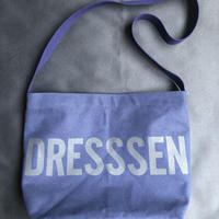 "DRESSSEN DBN2  ""DRESSSEN""SHOULDER BAG  NAVY COLOR"