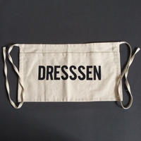 "DRESSSEN  LW9 LOWER WALL APRON  ""DRESSSEN""(腰巻きエプロンです)"