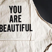 "DRESSSEN ADULT APRON  #9"" YOU ARE BEAUTIFUL"" ⭐️再入荷しました。"