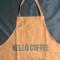 "🔴新発売 DRESSSEN  DRVBRN4 REVERSIBLE  APRON""HELLO COFFEE/YES!RELAX  TIME(リバーシブルエプロン)"