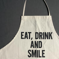 DRESSSEN ADULT APRON #46 EAT,DRINK AND SMILE