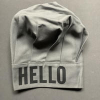 "DRESSSEN CCGR2 CHEF'S CAP   ""HELLO""(グレーカラー)"