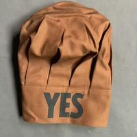 """DRESSSEN CCB1  CHEF'S CAP   """"YES""""(ブラウンカラー)"""