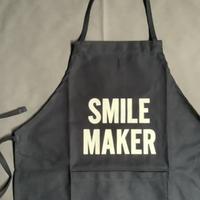 """👦🧒[限定発売]DRESSSEN KDN3 KIDS APRON  """"SMILE MAKER""""(※キッズエプロンです)🔵ダークネイビーカラー"""