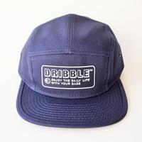 DRIBBLE Flat Visor Camper パパキャップ