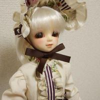 【MSD/SDM】コルセット&ワンピースセット レッド