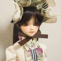 【MSD/SDM】コルセット&ワンピースセット グリーン