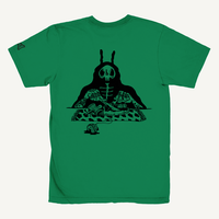S.O.S. (Snack Of Skull) Tee -Green-