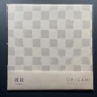 折り紙 波紋