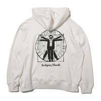 Hombre Nino / Double Logo Hooded Sweatshirt (White)