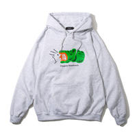 Croc Hooded Sweatshirt (Ash)