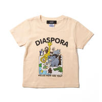 Greeting Kids Tee (Natural)