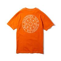 Dyed Magic Circle Tee (Orange)