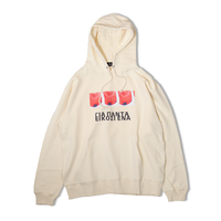 Twenty One Hooded Sweatshirt  (Natural)