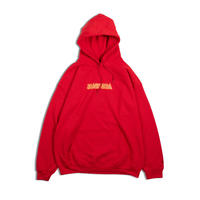 Star Child Hooded Sweatshirt (Red)