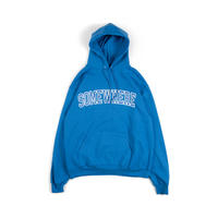 Somewhere Hooded Sweatshirt (Royal)
