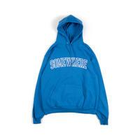 Somewhere Hooded Sweatshirt (Royal)