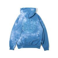 Dyed Magic Circle Hooded Sweatshirt (Lt.Blue(TIE DYE))