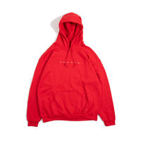 W.W.J.D.S.P. Hooded Sweatshirt (Red)