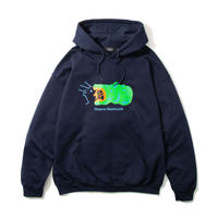 Croc Hooded Sweatshirt (Navy)