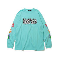 Flame L/S Tee (Pastel Emerald)