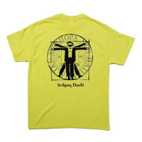 Hombre Nino / Double Logo Tee (Yellow)