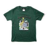 Greeting Kids Tee (Ivy Green)