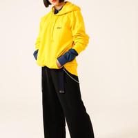 BOLMETEUS Oversized hoodie Yellow