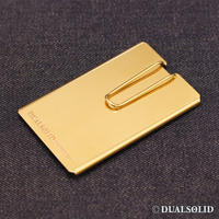 brass card & money clip