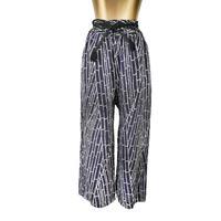 goto asato Select Maxi Trousers〔LT-TR01Z〕(01:紫地に白の竹模様)