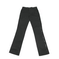 KOHSHIN  SATOH  メンズ  サイドライン入り コットンパンツ〔PPL-056〕(Black 28)