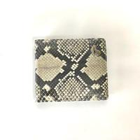 KOHSHIN SATOH パイソン二つ折り財布〔KM-008A〕(White)