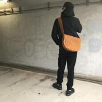 【抜群に合わせやすい!】アナザープラネットバッグ S -マサラブラウン/レッド-