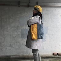 【使いやすいの声続々!】コヴェントリーバッグ M-カナリアイエロー/スカイグレー-