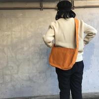 アナザープラネットバッグ S -ブライトイエロー/カーキ-