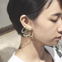 〈DE-ER177〉magnolia earring
