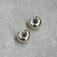 〈DE-AP209〉macaroni hoop pierce/earring