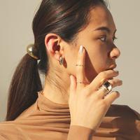 〈DE-ER178〉macaroni earring/pierce