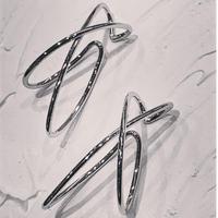 PE-168 Silver Non Hole Earrings(左耳用1個)