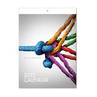 壁掛けカレンダー2022年  1セット(10冊)